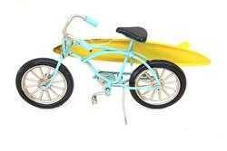 Mnk - Dekoratif Metal Bisiklet Sörf (1)