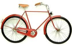 MNK - Bisiklet Duvar Panosu Kırmızı