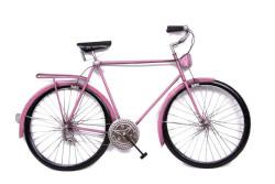 MNK - Bisiklet Duvar Panosu Pembe