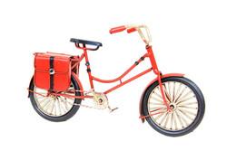 Mnk - Dekoratif Metal Bisiklet Çantalı