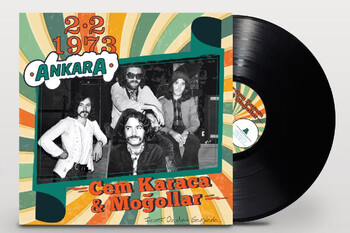 CROWNWELL - Cem Karaca & Moğollar 2.2.1973 Ankara 33-Lp