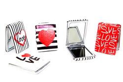 Self Design - Cep Aynası Dikdörtgen Love (1)
