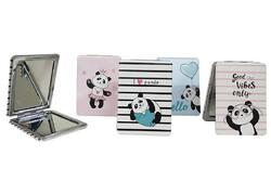 Self Design - Cep Aynası Dikdörtgen Panda