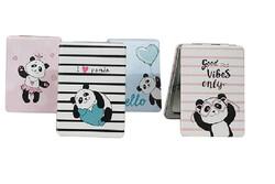 Self Design - Cep Aynası Dikdörtgen Panda (1)