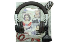 Self Design - Çerçeve Kulaklık Mikrofone Ebat(6/4)