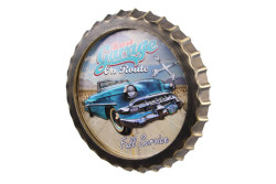 MNK - Dekoratif Kapak Modeli Garage& Chevrolet Temalı Led Işıklı Duvar Panosu (1)