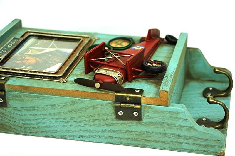 Dekoratif Kutu Anahtarlık Çerçeveli