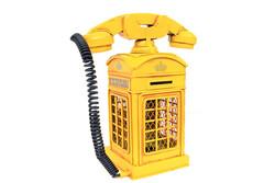 Mnk - Dekoratif Metal Ahizeli Telefon Kumbara (1)