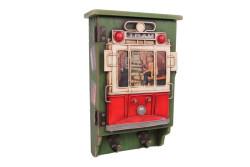 Mnk - Dekoratif Metal Anahtarlık Çerçeveli Tramvay Dekorlu (1)