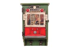 Mnk - Dekoratif Metal Anahtarlık Çerçeveli Tramvay Dekorlu