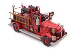 Mnk - Dekoratif Metal İtfaiye Arabası