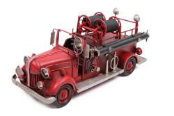 Mnk - Dekoratif Metal İtfaiye Arabası (1)