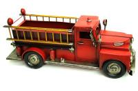 Mnk - Dekoratif Metal Araba İtfaiye Aracı Saksı (1)