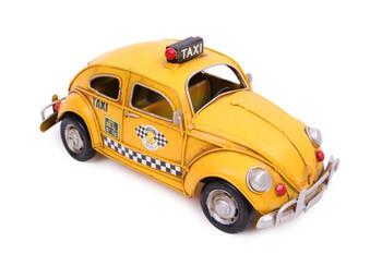MNK - Dekoratif Metal Araba Taksi