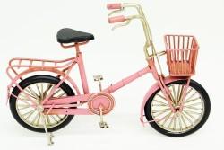 Mnk - Dekoratif Metal Bisiklet Sepetli (1)