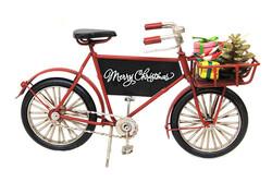 Mnk - Dekoratif Metal Bisiklet Sepetli