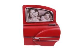 MNK - Dekoratif Metal Çerçeve Araba Kapısı Temalı