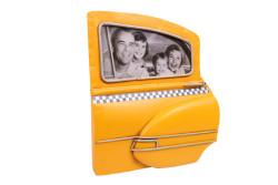Mnk - Dekoratif Metal Çerçeve Araba Kapısı Temalı (1)