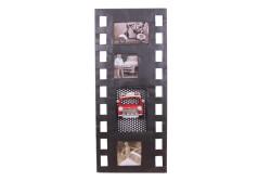 MNK - Dekoratif Metal Çerçeve Film Şeridi Temalı Dörtlü