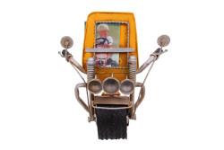 MNK - Dekoratif Metal Çerçeve Motosiklet Temalı