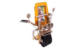 Mnk - Dekoratif Metal Çerçeve Motosiklet Temalı (1)