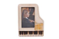 MNK - Dekoratif Metal Çerçeve Piyano Temalı
