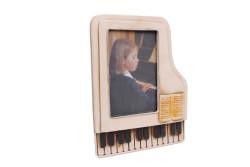 Mnk - Dekoratif Metal Çerçeve Piyano Temalı (1)