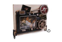 Mnk - Dekoratif Metal Çerçeve Sinema Projektörü Dekorlu (1)