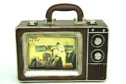 Mnk - Dekoratif Metal Çerçeve Televizyon Temalı (1)