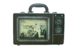 MNK - Dekoratif Metal Çerçeve Televizyon Temalı