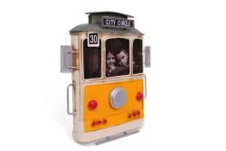 Mnk - Dekoratif Metal Çerçeve Tramvay Temalı (1)