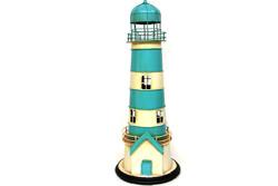 - Dekoratif Metal Deniz Feneri Kumbara