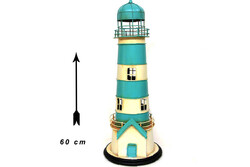 MNK - Dekoratif Metal Deniz Feneri Kumbara (1)