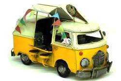 Mnk - Dekoratif Metal Dondurma Minibüsü