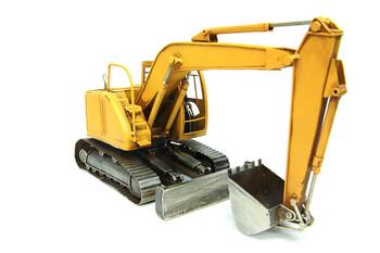 MNK - Dekoratif Metal Ekskavatör iş Makinesi