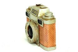Mnk - Dekoratif Metal Fotoğraf Makinesi (1)