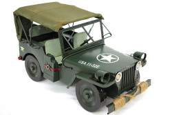 MNK - Dekoratif Metal Jeep