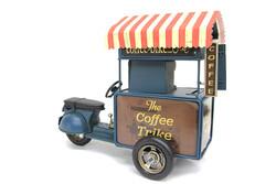 Mnk - Dekoratif Metal Kahve Arabası
