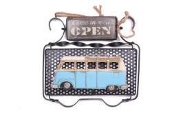 Mnk - Dekoratif Metal Kapı Yazısı Minibüs Dekorlu