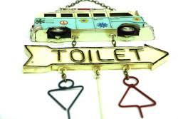 Dekoratif Metal Kapı Yazısı Minibüs - Thumbnail
