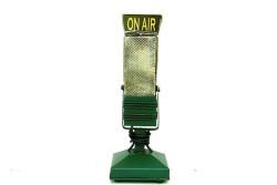 Mnk - Dekoratif Metal Mikrofon