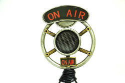 Mnk - Dekoratif Metal Mikrofon (1)