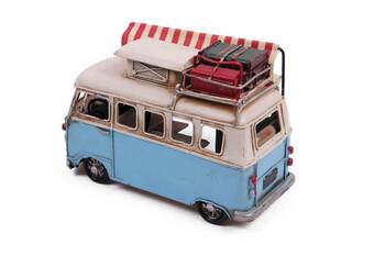 Dekoratif Metal Minibüs Çerçeveli ve Tenteli - Thumbnail