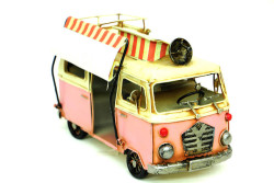 Mnk - Dekoratif Metal Minibüs Çerçeveli ve Tenteli (1)