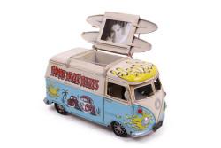 Mnk - Dekoratif Metal Minibüs Kalemlik ve Çerçeveli (1)