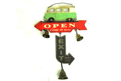 MNK - Dekoratif Metal Minibüs Kapı Çanı