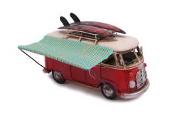 Mnk - Dekoratif Metal Minibüs Tenteli