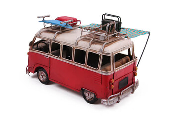 Dekoratif Metal Minibüs Tenteli - Thumbnail