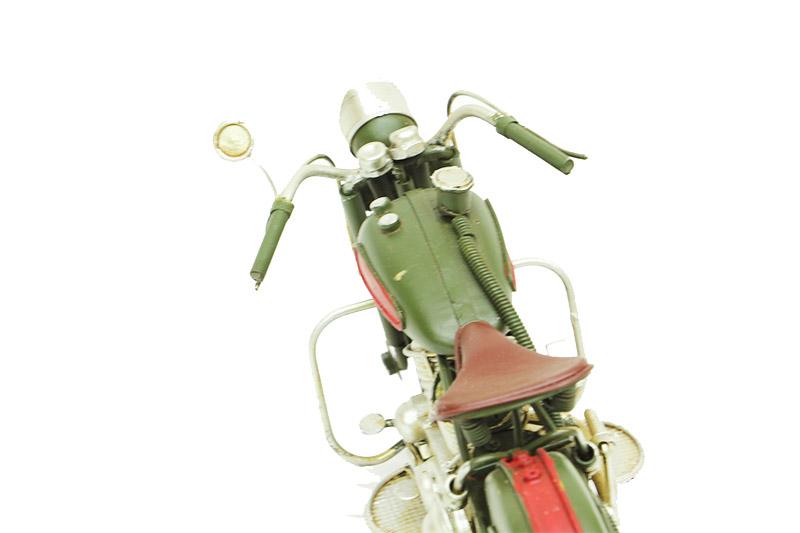 Dekoratif Metal Motosiklet