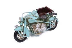 Mnk - Dekoratif Metal Motosiklet Sepetli (1)